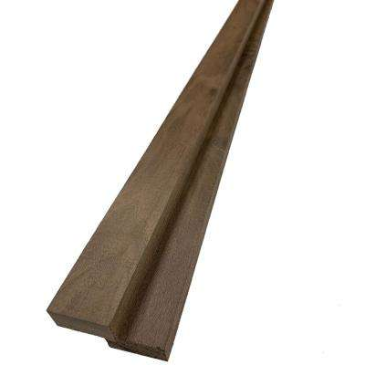 1 in. x 2 in. x 8 ft. Walnut S4S Board (2-Pack)