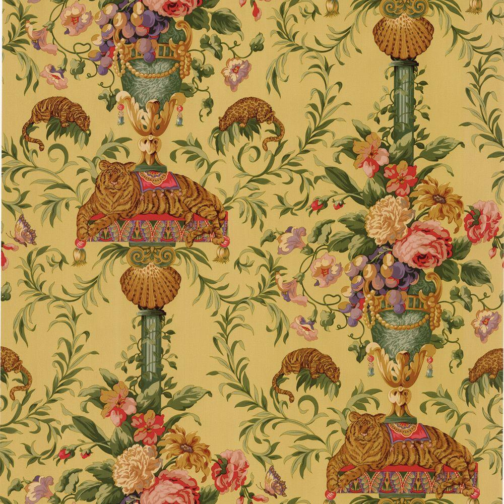 The Wallpaper Company 56 sq. ft. Multi Colored Cirque Wallpaper