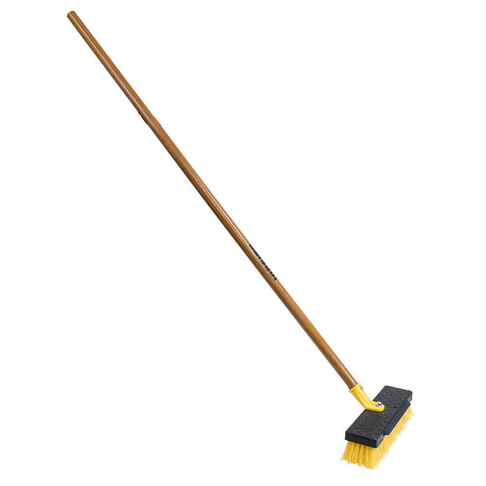 Quickie 12 in. Heavy Duty Deck Scrub Brush (Case of 6)