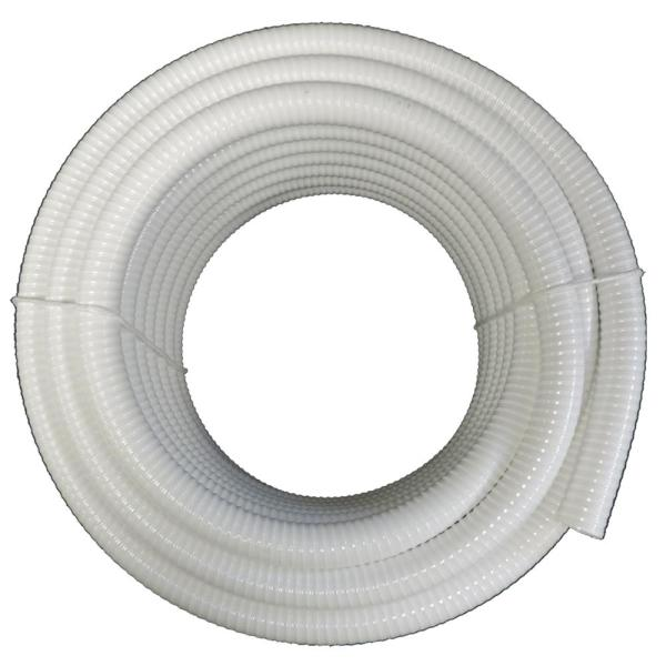 1 in. x 25 ft. PVC Schedule 40 White Ultra Flexible Pipe