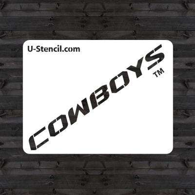 "OSU ""COWBOYS"" Mini Stencil"
