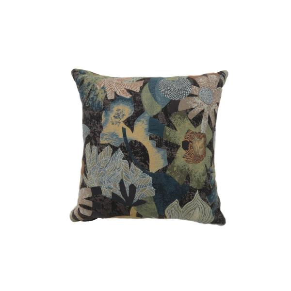 Livia 22 in. Contemporary Throw Pillow in Multicolor (Pack of 2)