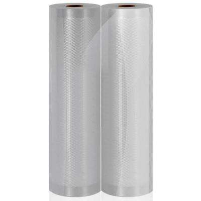 Vacuum Sealer Bags - Clear Universal Air Vac Sealing Bags (2-Rolls, 100 ft. Total Length)