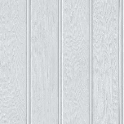 Tongue and Groove Grey Wallcovering