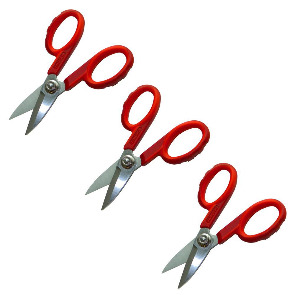 1.625 in. Fiber Optic Shears (3-Pack)