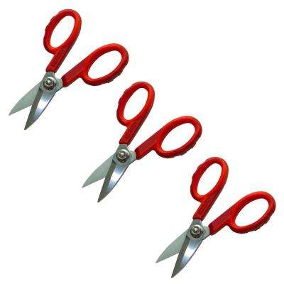 1.625 in. Fiber Optic Shears (3-Pack)