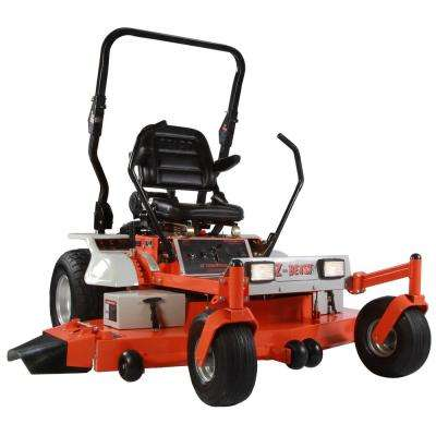 62 in. Zero-Turn Commercial Mower Powered by a Briggs and Stratton 25 HP Turf Engine with free Rollbar and Headlights
