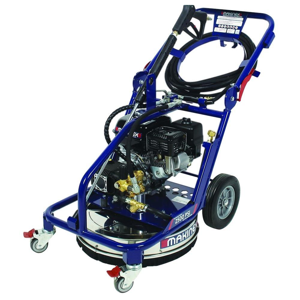 Makinex 2,500 psi 2.5 GPM Gas Dual Pressure Washer
