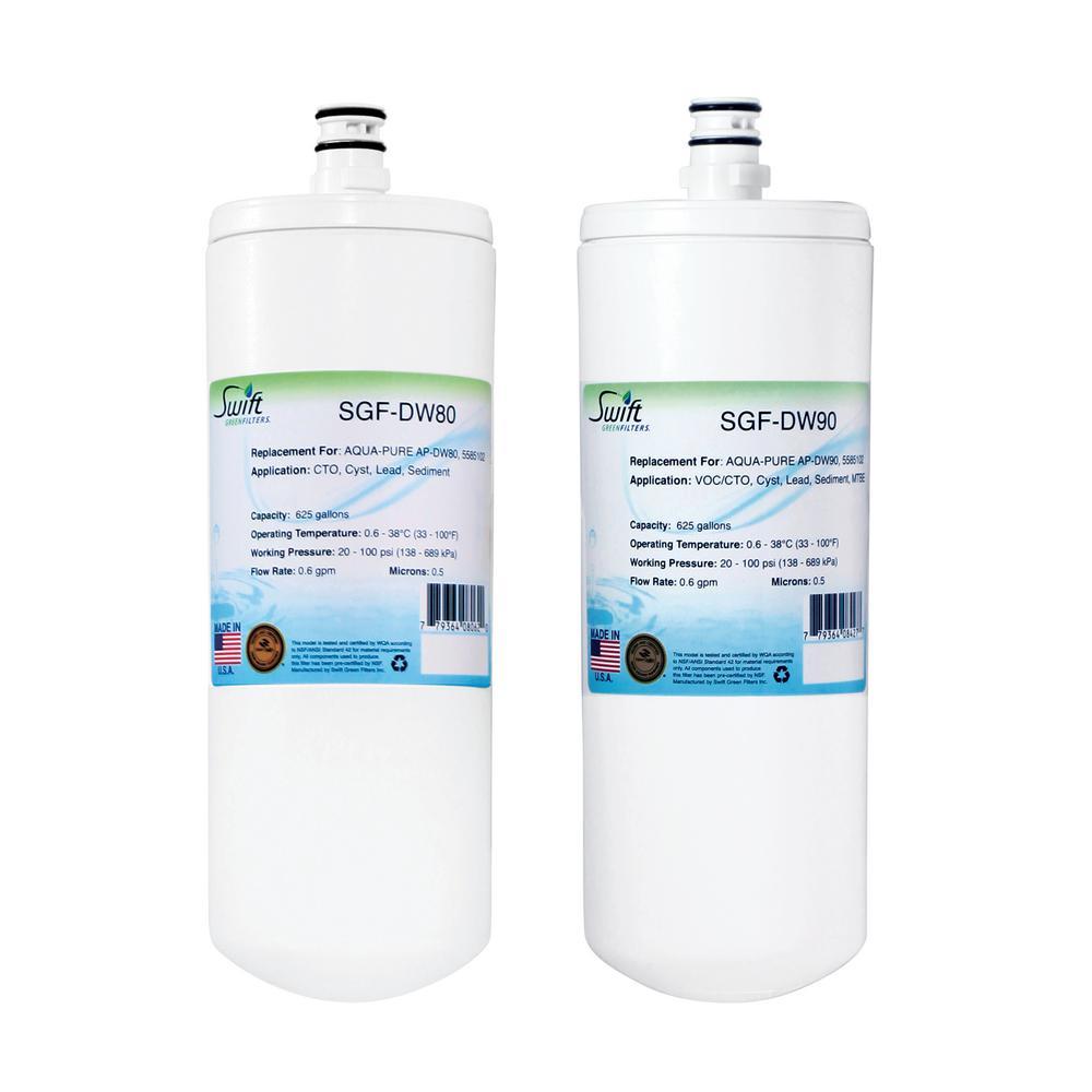 Swift Green Filters Aqua Pure AP-DW80 Replacement
