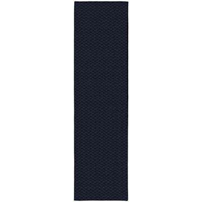 Medallion 3 Ft. x 12 Ft. Area Rug Runner Navy