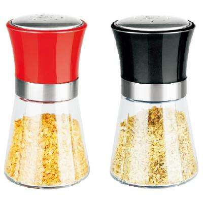 Over-Sized Glass Salt and Pepper Shakers