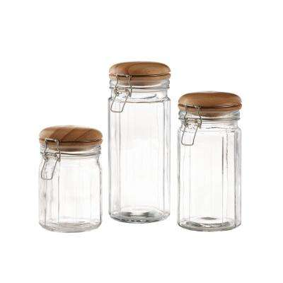 Small, Medium and Large Cansiter Set (3-Piece)