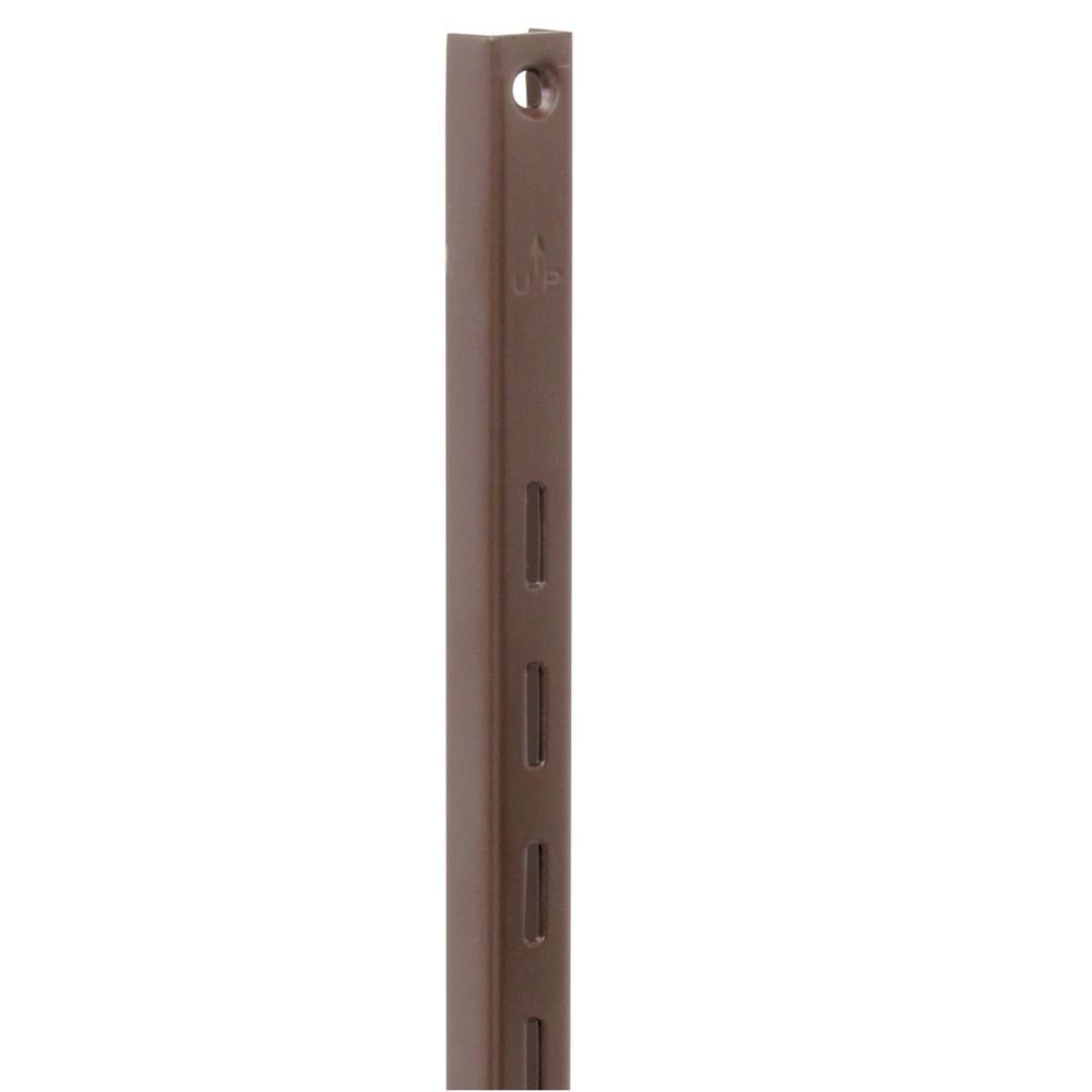 Knape & Vogt 80 Series 24 in. L Brown Adjustable Shelving Standard