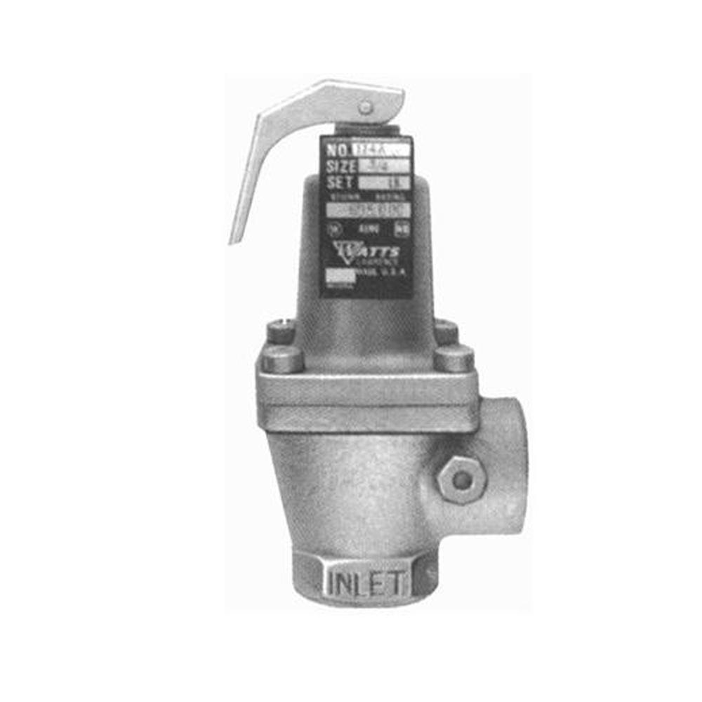 3/4 in. IPS 30 psi Bronze Pressure Relief Valve