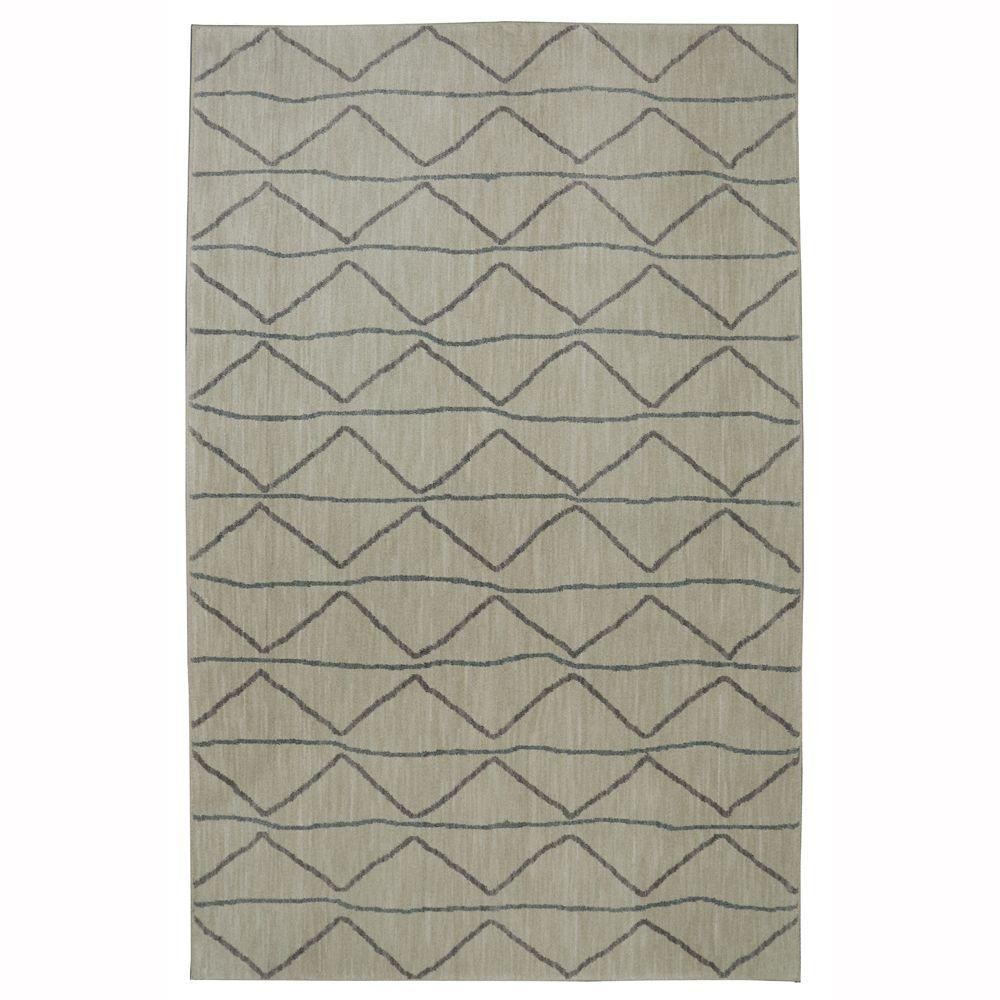 Spencer Cappuccino 8 ft. x 10 ft. Area Rug