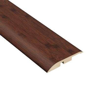 Auburn Bamboo 7/16 in. Thick x 1-5/16 in. Wide x 94 in. Length Vinyl Multi-Purpose Reducer Molding