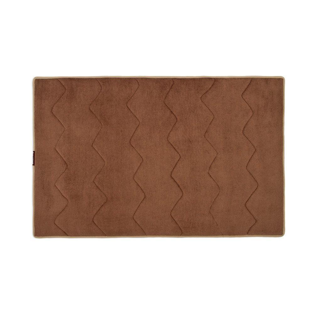 Buddy & Friends Chocolate 34 in. x 22 in. Memory Foam Pet Crate Mat-DISCONTINUED