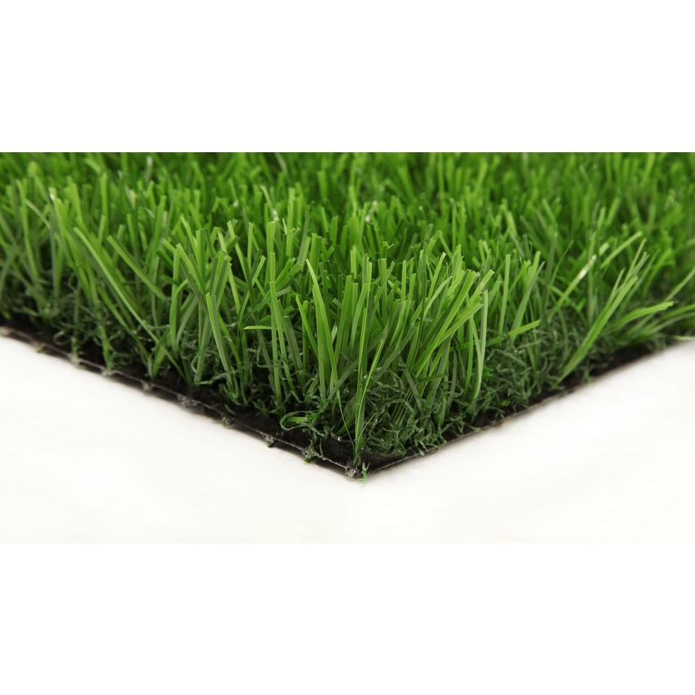 GREENLINE Classic Pro 82 Spring 15 ft. x Your Length Artificial Synthetic Lawn Turf Grass Carpet for Outdoor Landscape