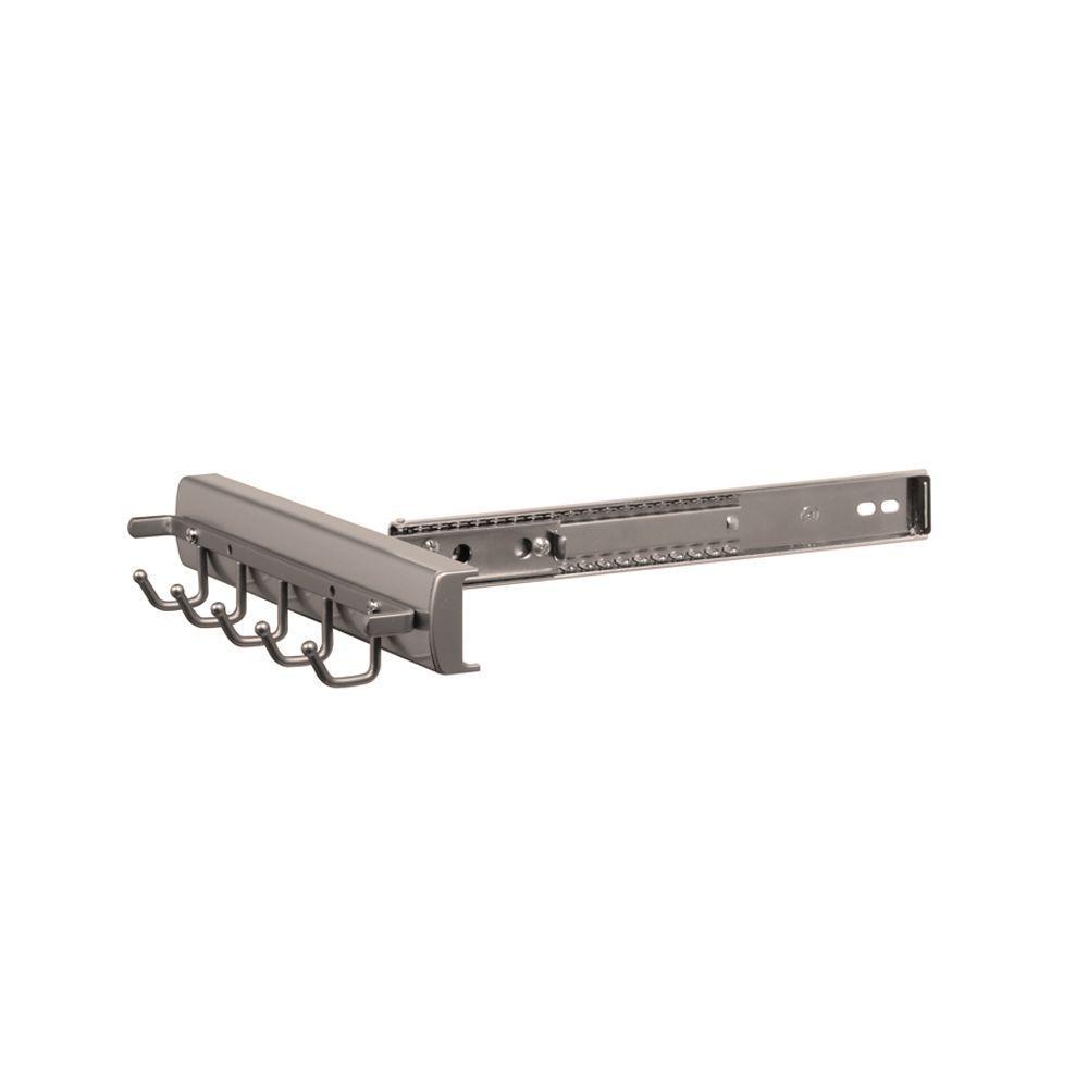Premier 5-Hook Slide and Pivot Belt Rack