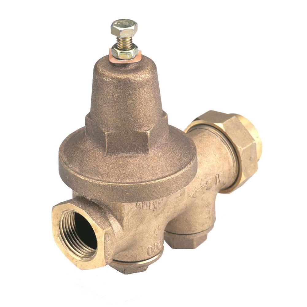 Zurn-Wilkins 3/4 in. x 3/4 in. Brass Pipe-Thread Water-Pressure Reducing Valve