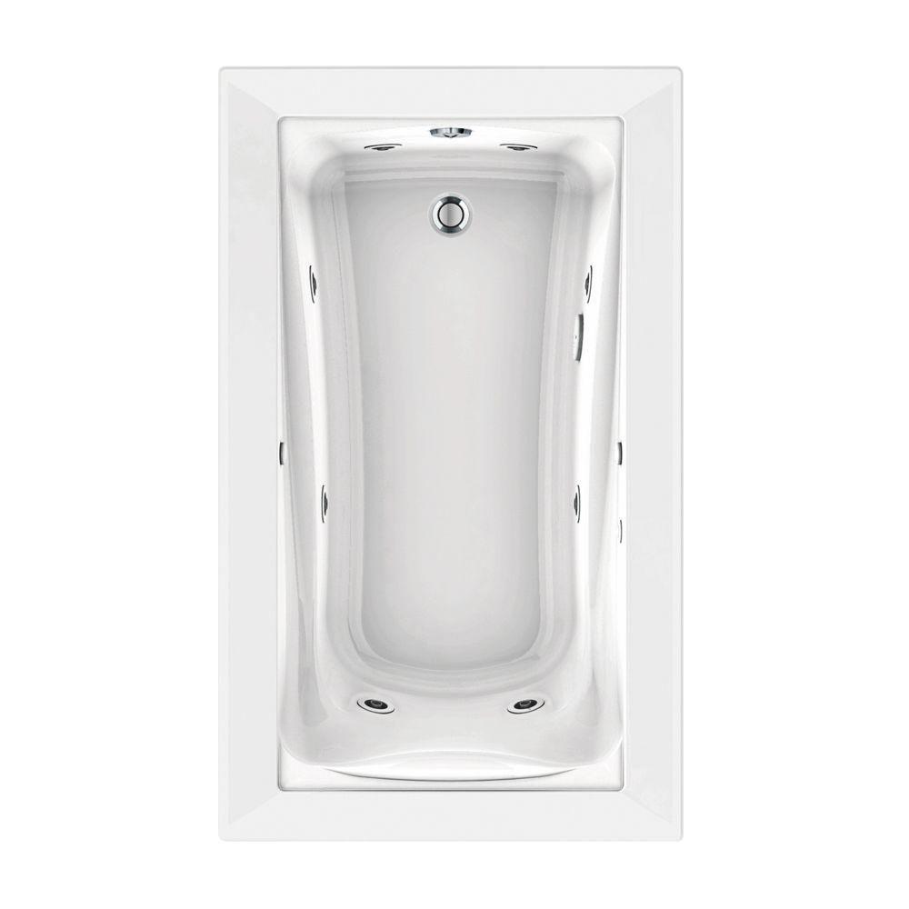 Green Tea 60 In. X 36 In. Reversible Drain EcoSilent EverClean