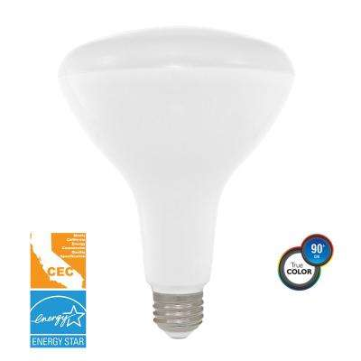 75-Watt Equivalent Soft White BR40 Dimmable LED CEC-Certified Light Bulb