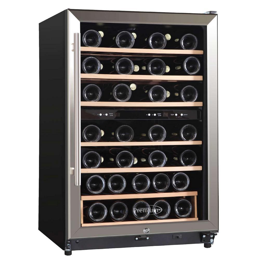 45-Bottle Freestanding Wine Cooler