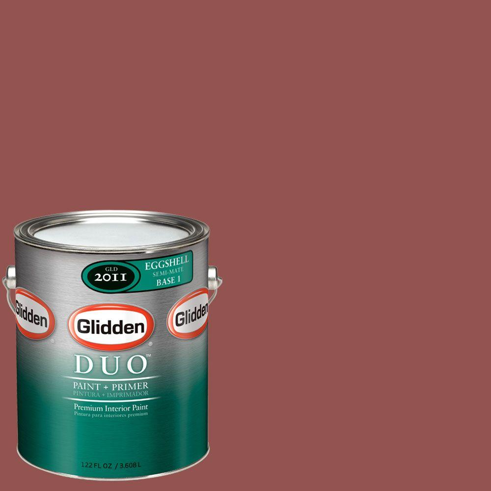 Glidden DUO Martha Stewart Living 1-gal. #MSL022-01E Sealing Wax Eggshell Interior Paint with Primer-DISCONTINUED
