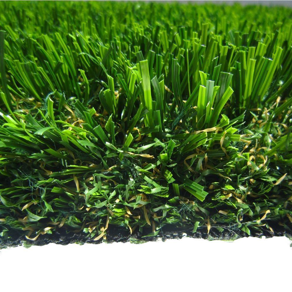 RealGrass Premium Artificial Grass Synthetic Lawn Turf, Sold by 15 ft. W x Custom Length