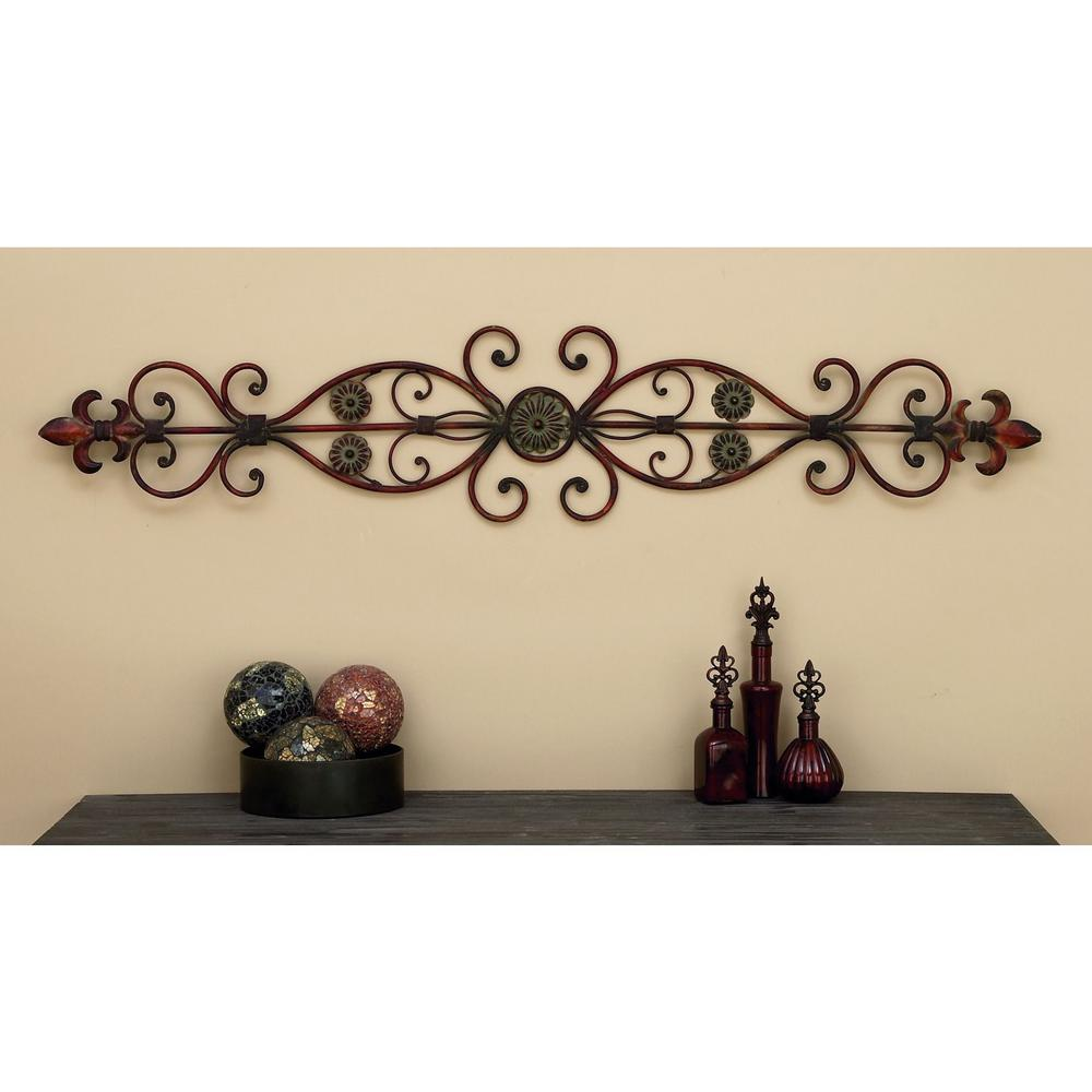 Fleur De Lis Door Top Wall Decor