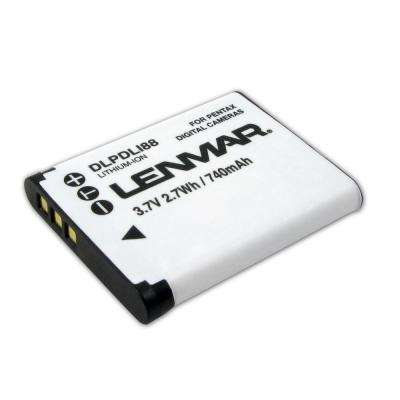 Lithium-Ion 740mAh/3.7-Volt Digital Camera Replacement Battery