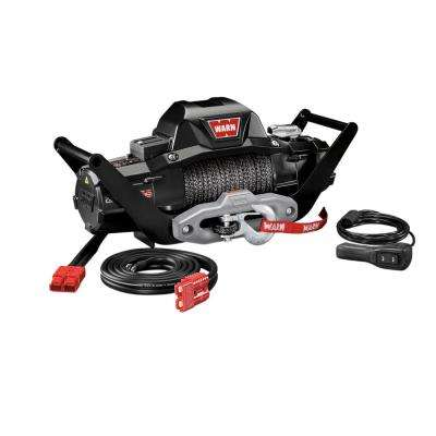 Zeon 10-S 10,000 lb. Multi-Mount Winch with Synthetic Rope