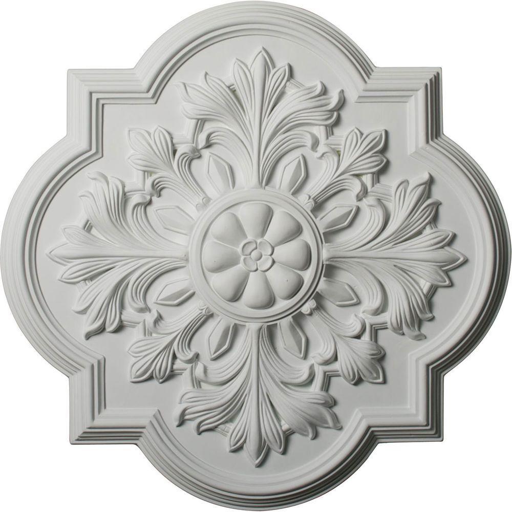 1-3/4 in. x 20 in. Polyurethane Bonetti Ceiling Medallion