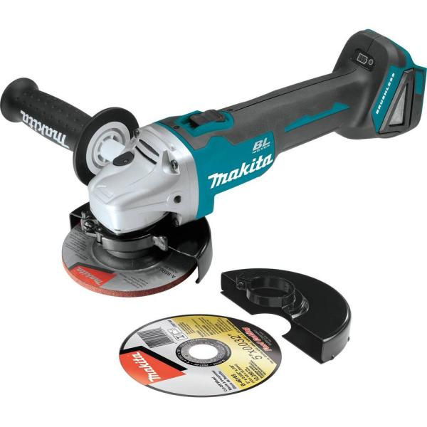 18-Volt LXT Lithium-Ion Brushless Cordless 4-1/2 in./5 in. Cut-Off/Angle Grinder (Tool-Only)