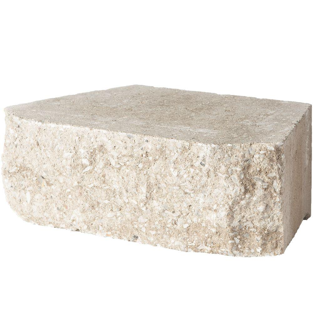 4 in. x 11.75 in. x 6.75 in. Merriam Blend Concrete