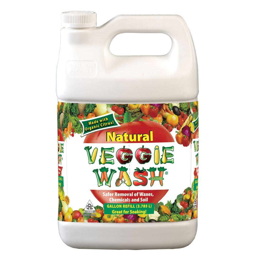 Veggie Wash 1 Gal. All Natural Fruit and Vegetable Wash Disinfectant