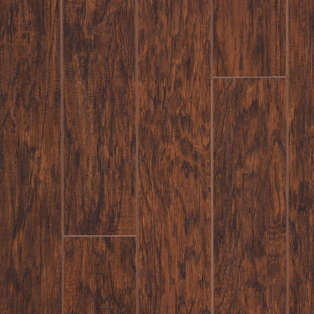 Hampton Bay Enderbury Hickory Laminate Flooring - 5 in. x 7 in. Take Home Sample
