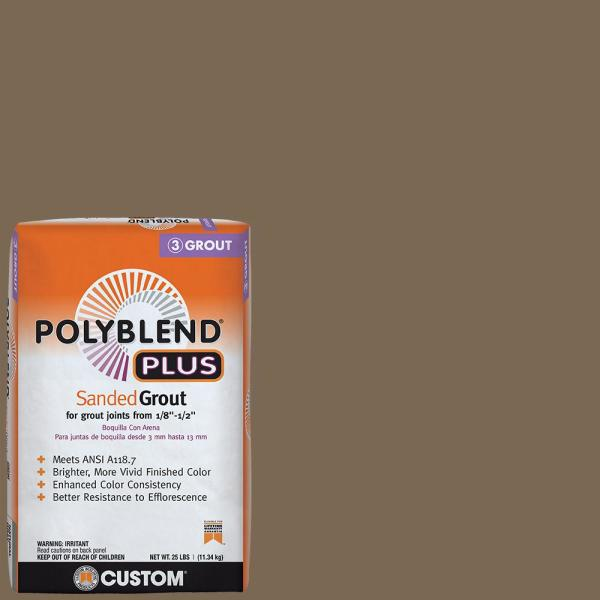 Polyblend Plus #59 Saddle Brown 25 lb. Sanded Grout