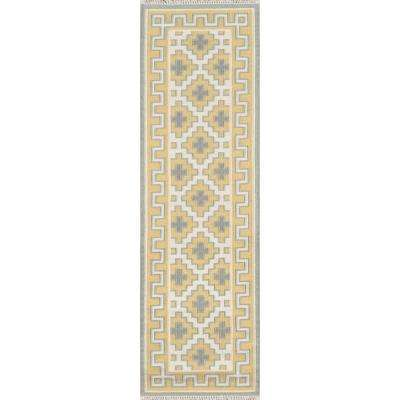 Brookline Gold 2 ft. 3 in. x 8 ft. Runner