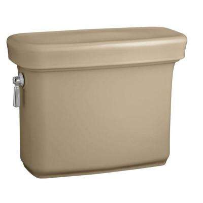 Bancroft 1.28 GPF Single Flush Toilet Tank Only with AquaPiston Flush Technology in Mexican Sand