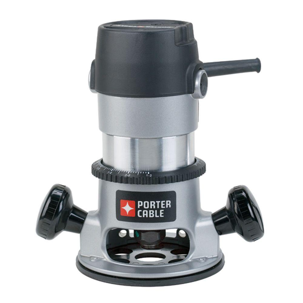 Porter cable 11 amp 175 hp fixed base router kit 9690lr the home porter cable 11 amp 175 hp fixed base router kit greentooth Image collections
