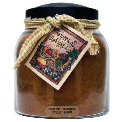 Praline Caramel Glass Candle