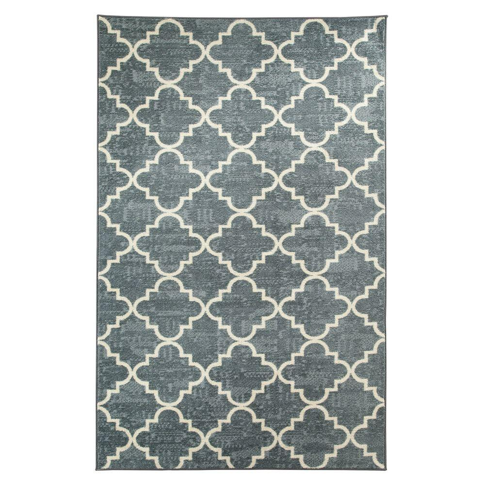 Mohawk Home Fancy Trellis Gray Printed 5 ft. x 8 ft. Indoor Area Rug was $127.19 now $101.75 (20.0% off)