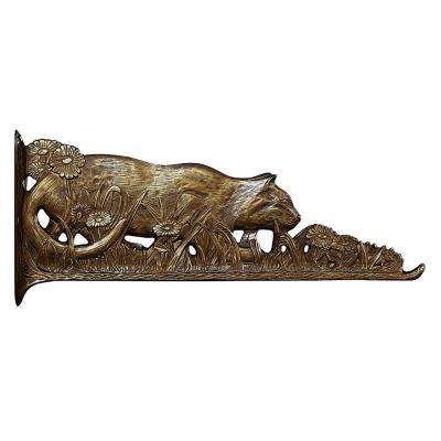 French Bronze Cat Nature Hook