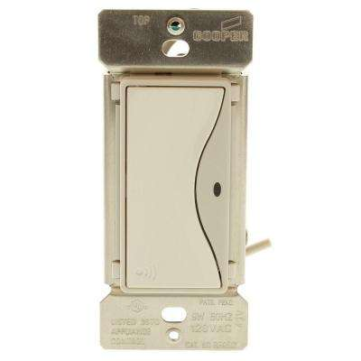Aspire RF Accessory Switch for RF9501 Wireless Light Switches, White Satin