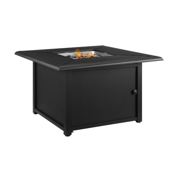 Dante Metal Outdoor Fire Pit Table