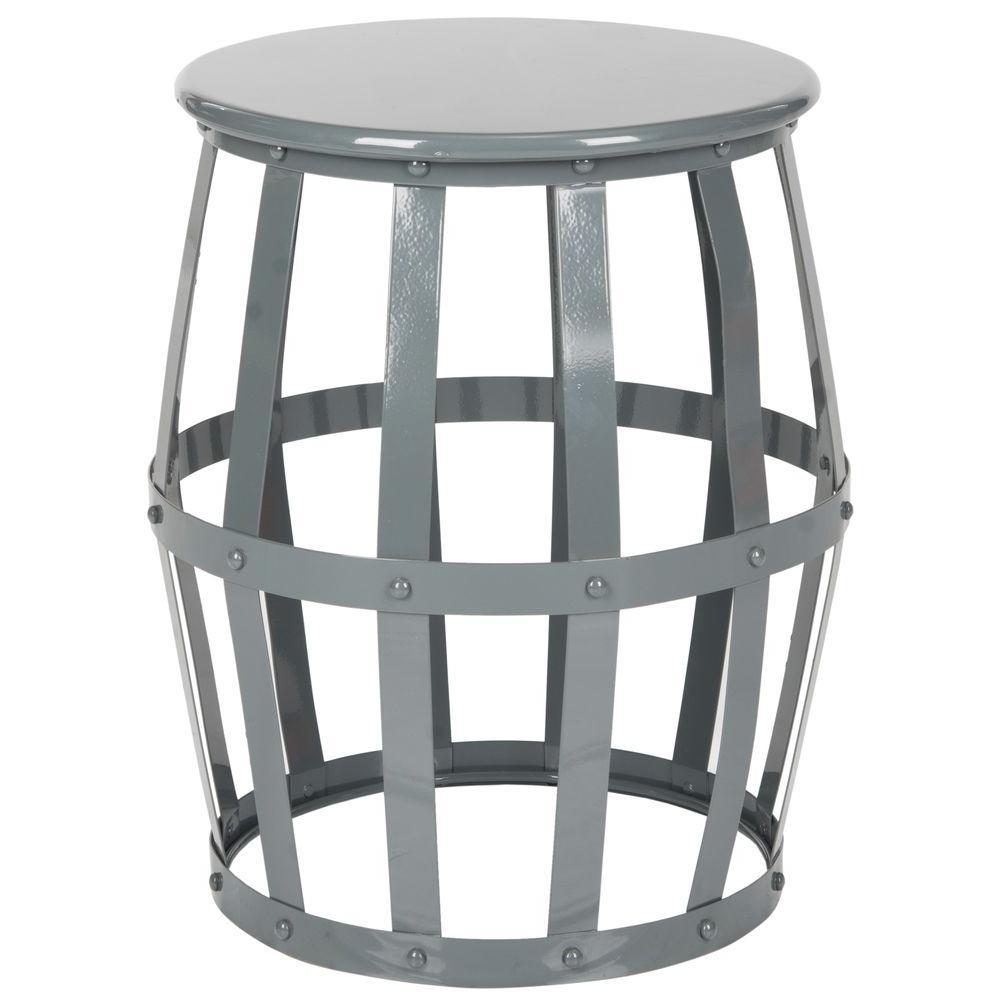 Rinaldo Grey End Table