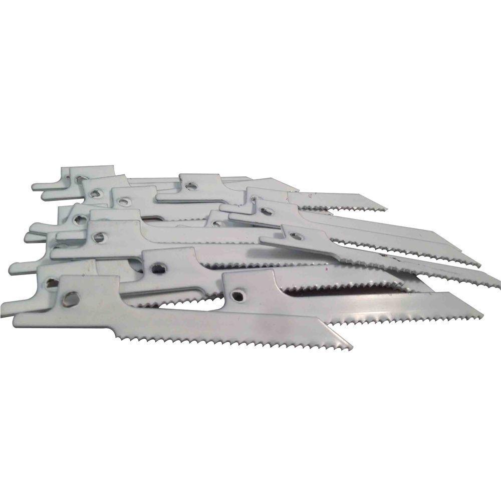 3 in. x 5/16 in. x 0.035 in. 14 Teeth per in. Scroll Metal Cutting Bi-Metal Reciprocating Saw Blade (10-Pack)