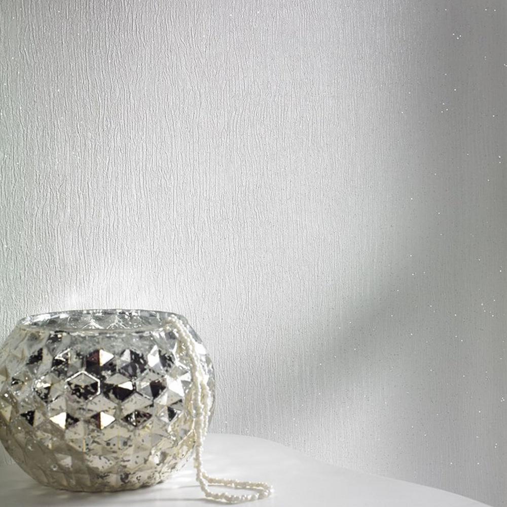 Disco White Wallpaper