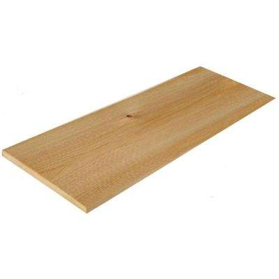 5 in. x 16 in. Natural Kiln Dried Eastern White Cedar Shingle Siding